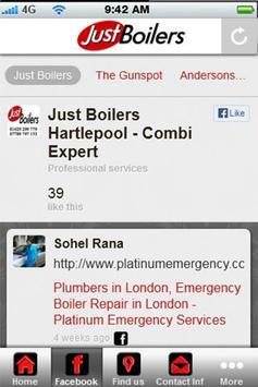 Just Boilers Hartlepool apk screenshot