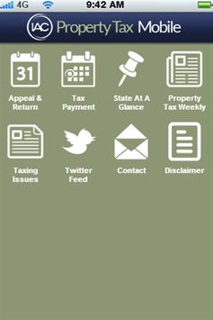 Property Tax Mobile poster