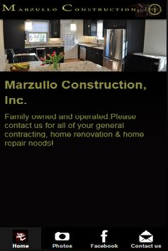 Marzullo Construction, Inc. apk screenshot