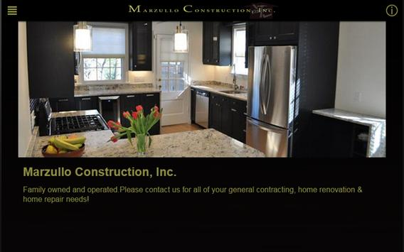 Marzullo Construction, Inc. poster