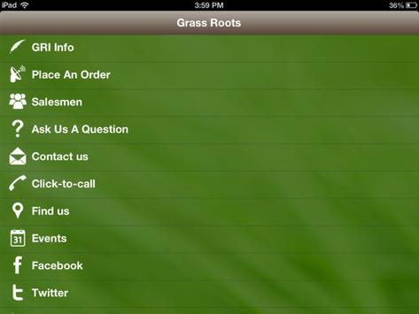Grass Roots Turf Products apk screenshot