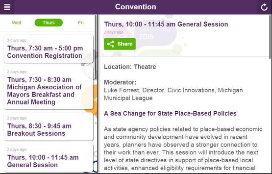 2016 Convention apk screenshot