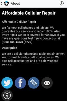 Affordable Cellular Repair apk screenshot