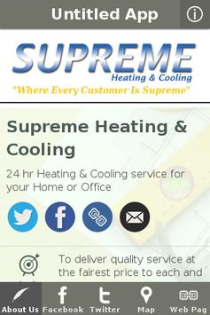 Supreme Heating & Cooling poster