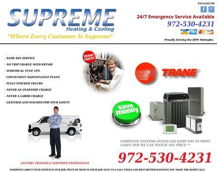 Supreme Heating & Cooling apk screenshot