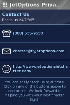 JetOptions Private Jets poster