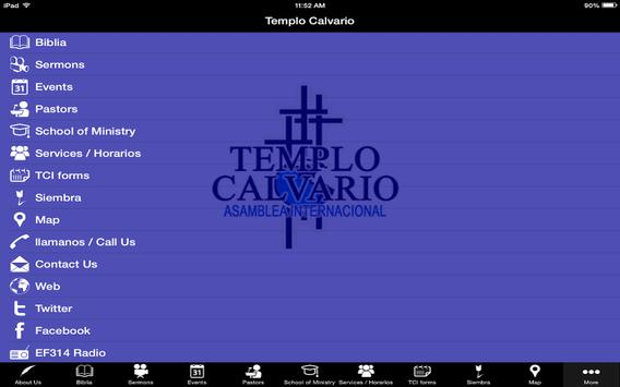 Templo Calvario Nj apk screenshot