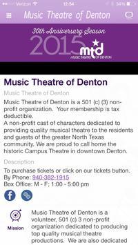 Music Theater of Denton apk screenshot