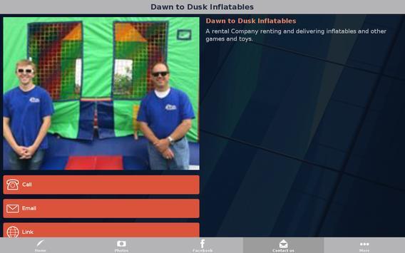 Dawn to Dusk Inflatables apk screenshot