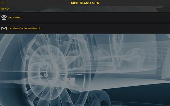 MERIDIANO SPA apk screenshot