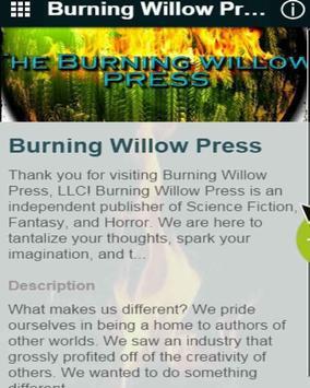 Burning Willow Press poster