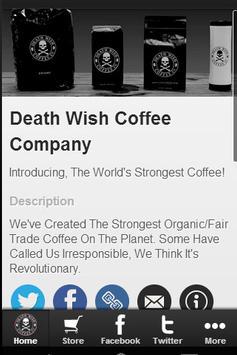 Death Wish Coffee Company poster