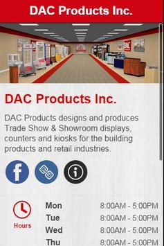 DAC Products, Inc. poster