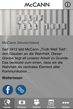 McCann Deutschland poster