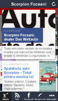 Scorpion Focsani, dealer VW poster