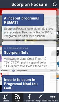 Scorpion Focsani, dealer VW apk screenshot