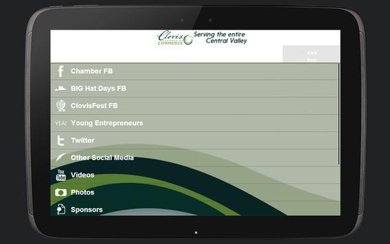 Clovis Chamber Mobile apk screenshot