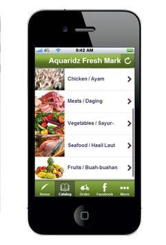 Aquaridz Fresh Market apk screenshot