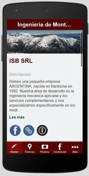ISB Ingeniería de Montaña poster