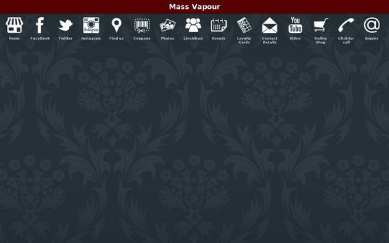 Mass Vapour apk screenshot