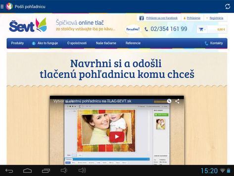 ŠEVT papiernictvo apk screenshot