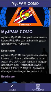 MyJPAM CoMo apk screenshot