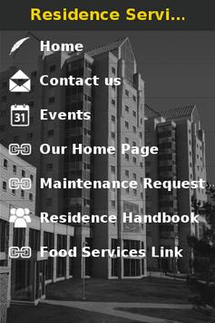 Residence Services poster