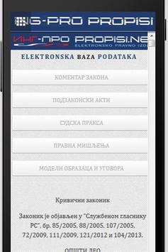 Propisi ING-PRO apk screenshot