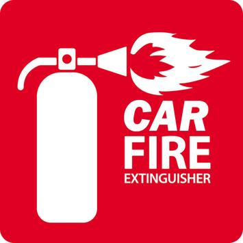 Car Fire Extinguisher poster