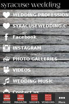 Syracuse Wedding poster
