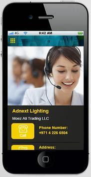 Adnext Lighting apk screenshot