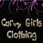Curvy girls clothing icon