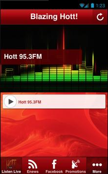 Hott 95.3FM poster