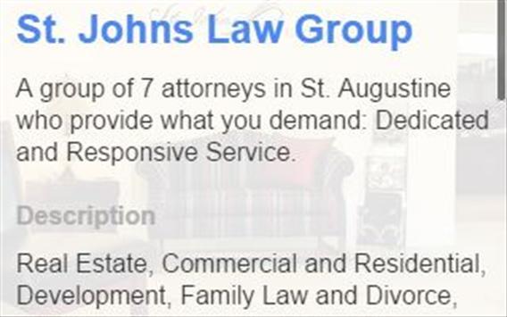 St. Johns Law Group apk screenshot