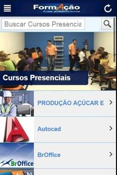 Formação Cursos apk screenshot