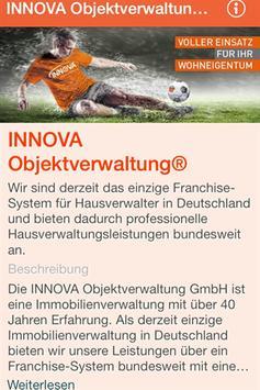 INNOVA Objektverwaltung® poster