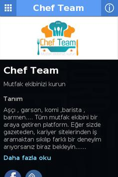 Chef Team poster