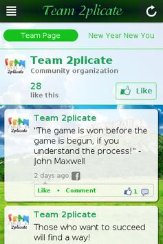 Team 2plicate poster
