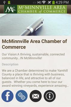 McMinnville Chamber poster