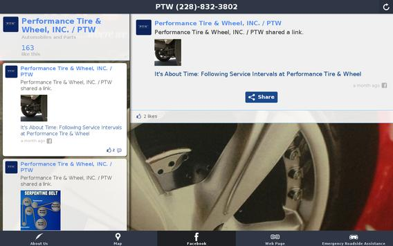 Performance Tire & Wheel, INC. apk screenshot