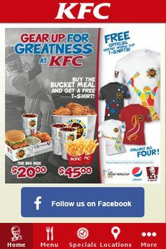 KFC St. Lucia poster