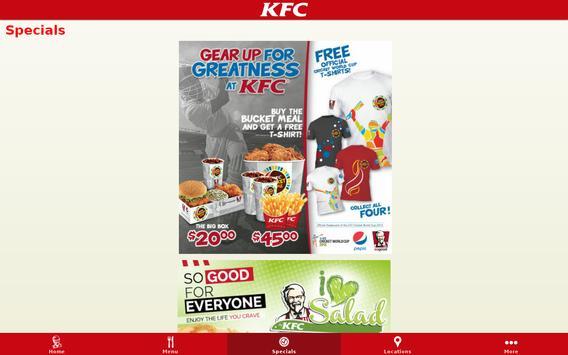 KFC St. Lucia apk screenshot