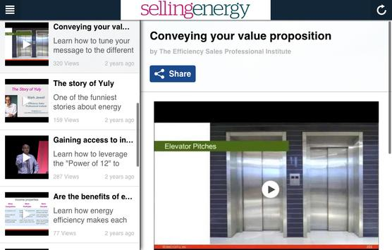 Selling Energy App apk screenshot