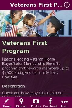 Veterans First Program apk screenshot