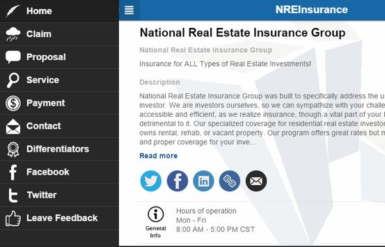 NREInsurance apk screenshot