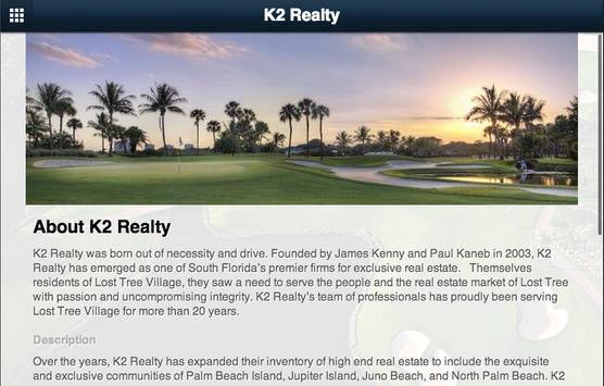 K2 Realty apk screenshot