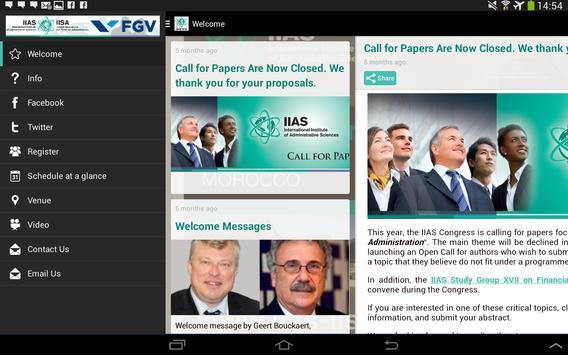 IIAS Congress 2015 apk screenshot