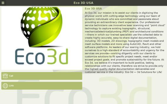 Eco 3D USA apk screenshot
