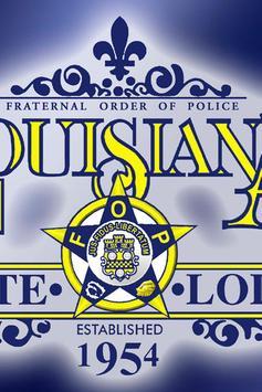 Louisiana FOP poster