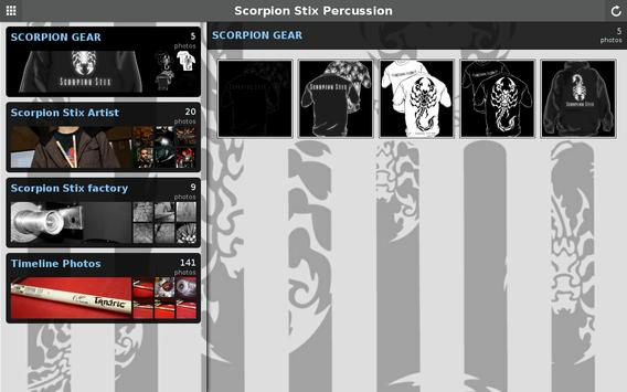 Scorpion  Percussion apk screenshot